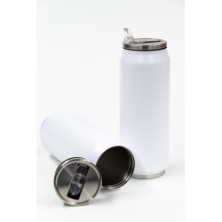 WHITE MATTE TRAVEL CUP - 500ML