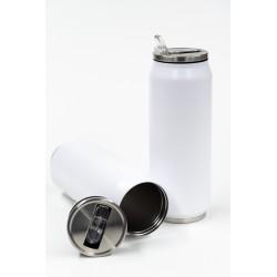 WHITE MATTE TRAVEL CUP - 500ML